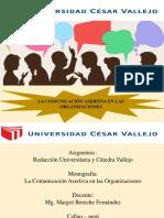 Comunicación Asertiva en Las Organizaciones Final