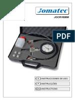 User Manual JOCR1600M