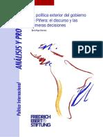 Yopo (2011)-La Política Exterior Del Gobierno de Piñera- El Discurso y Las Primeras Decisiones