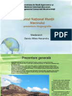 Parcul National Muntii Macinului-Fitogeografie