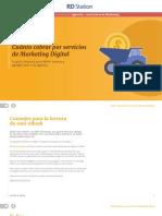 eBook Cuanto Cobrar Por Servicios de Marketing Digital