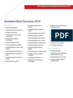 ISI Academy Outline Autodesk Revit Structure 2014