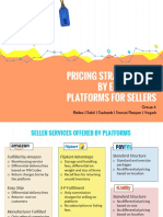 Pricing Strategy for E-Commerce Platforms