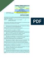 Caracterologico de Berger-raul