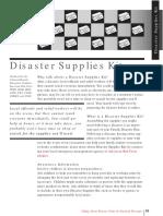 Disaster Supply Kit