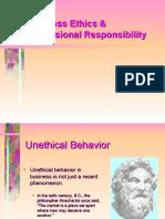 Business Ethics & Professional Responsibility