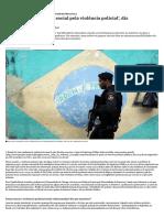 'Existe Uma Demanda Social Pela Violência Policial', Diz Pesquisadora - Nexo Jornal