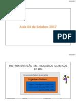 Instrumentação Tema 1 (2017_2)