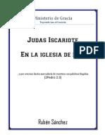 Judas Iscariote en La Iglesia de Hoy FOLLETO
