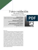 Foto-oxidación Del Sistema Cr 6