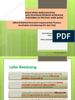 4-Tuti Surtimanah - Pembinaan Teknis Berkelanjutan Berbasis Evaluasi Pelatihan Promkes Bagi Petugas Puskesmas