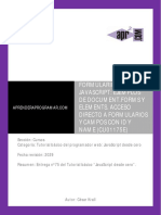 CU01175E Formularios Javascript Ejemplos Document Forms Elements Name