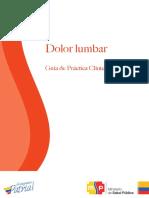 Guía Dolor Lumbar 16012017