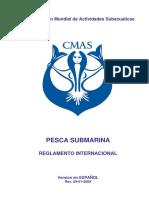 006 Reglamento Cmas Pesca Submarina Espanol