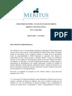 Simulado I - Meritus Constitucional