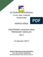 Kertas Kerja Merentas Desa Skdm 2017