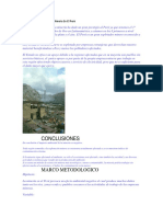 Impacto Ambiental de La Minería en El Perú