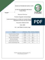 Control de Motor de CD Mediante PWM