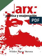 Marx Politica y Enajenacion