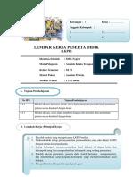 Contoh LKPD uji kualitatif protein