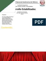 Economía-Desarrollo estabilizador