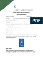 Informe 1 Quimica ESPE