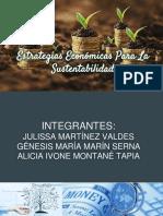 Estrategias Económicas Para La Sustentabilidad