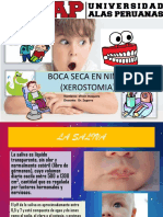 Boca Seca en Niños (Xerostomia)