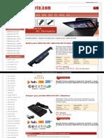 Batterie pour ASUS A32-K55, ASUS A32-K55 Portable Batterie