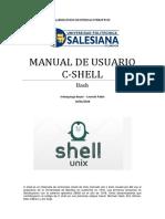 Manual de Usuario C Shell