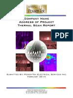 PTES Sample IR Scan Report