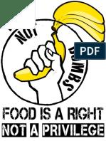 Food Not Bombs Bananas