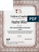 inside ld- certificate of completion