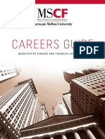 2018 MSCF Careers Guide