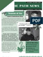 2008 November - December Path of Citrus County Newsletter