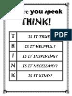 THINK(1)