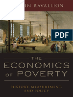 Martin Ravallion the Economics of Poverty