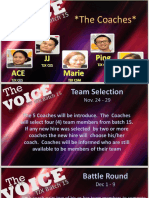 The Voice - Tjx Edition