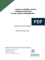Introducing an E-Health Card For