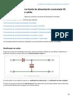 Funcionamiento de una fuente de alimentación conmutada 7 Rectificador y filtro de salida.pdf