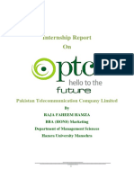 326269793 Internship Report on Ptcl 2016 Marketing