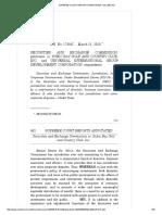 4. SEC vs. Subic Bay Golf and Country Club, Inc., 752 SCRA 481, G.R. No. 179047 Mar 11, 2015