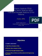 Soil Behaviors - Bahan Kuliah TSA ESA USA and Shanseep - Dr Endra Susila