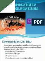 Kewaspadaan Dini Dan Penanggulangan Klb Dbd