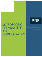 Microscopic Polyangiitis and Homoeopathy