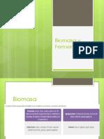 Biomasa y Fermentacion