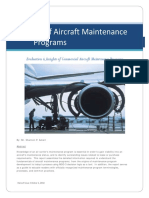 Aircraft Maintenance Programs