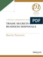 TRADE SECRETS OF BUSINESS DISPOSALS