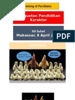 Penguatan Pendidikan Karakter (IGI Sulsel)