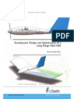 Aerodynamic Design and Optimization of LR MUAV